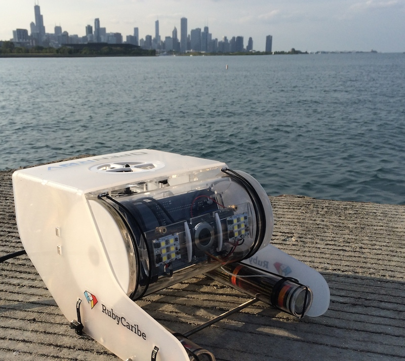 OpenROV meets Lake Michigan.