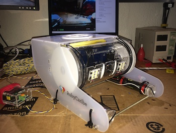 OpenROV fully assembled.