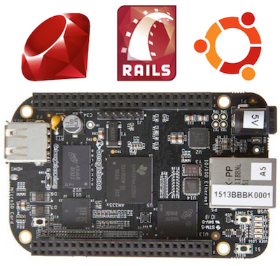 Ruby. Rails. Ubuntu. BeagleBone Black.