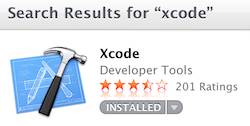 Homebrew depends on Xcode.
