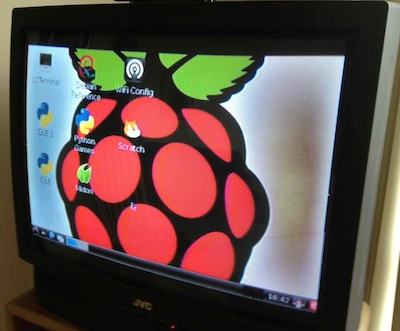Raspberry Pi Analog TV Monitor