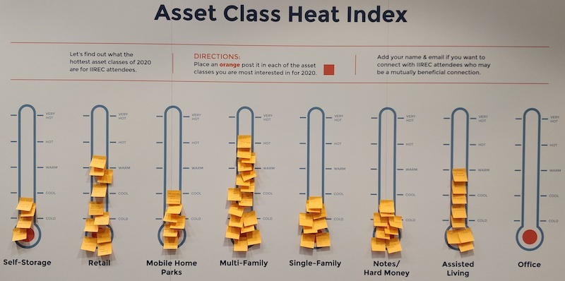 Asset Classes - Intelligent Investors Real Estate Conference 2020 - Los Angeles, CA, USA