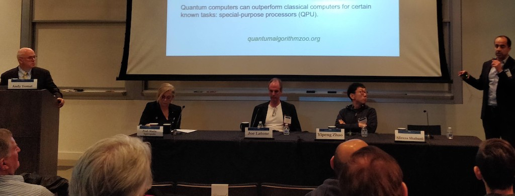 Quantum panel at Caltech Entrepreneurs Forum